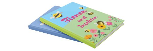 Bücher über Blumen und Insekten